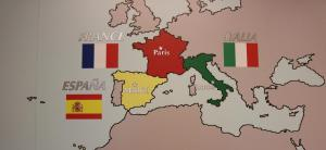 ISPA wall map